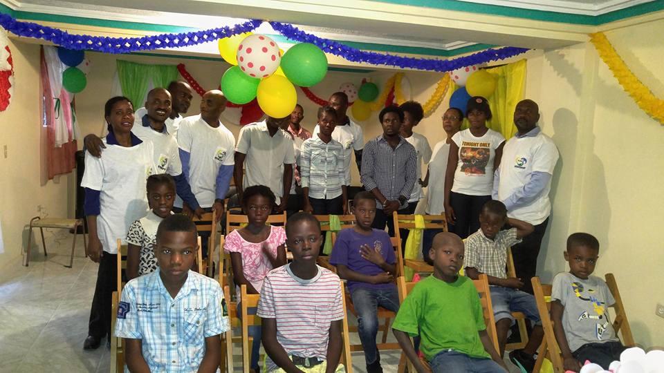 Équipe de lancement du CAEJ - Haïti