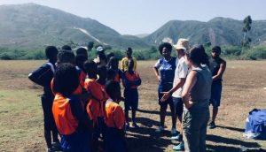 Séance de soccer avec les jeunes